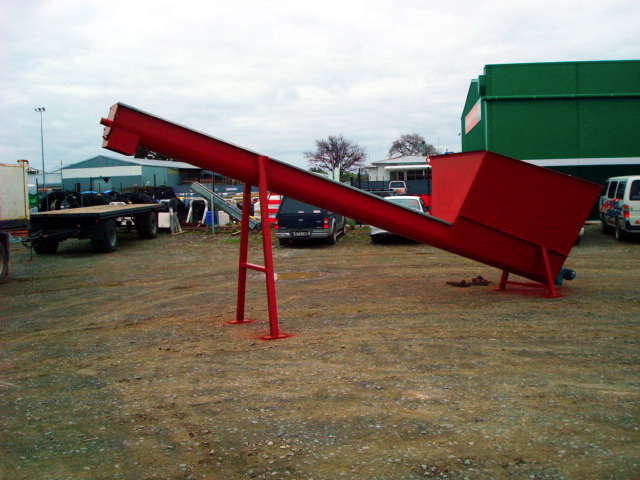Augers and Hopper