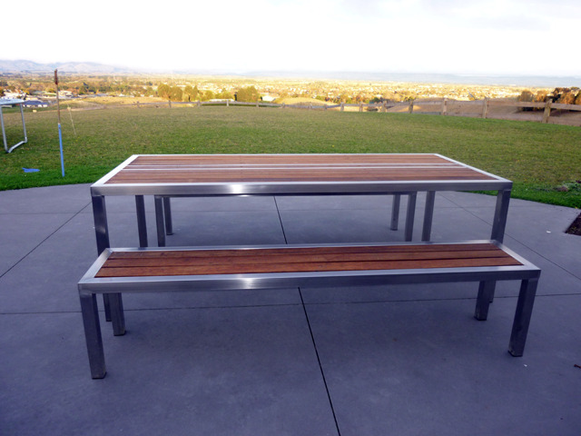 Stainless Steel Outside Furniture